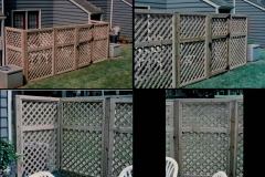 lattice-fencing