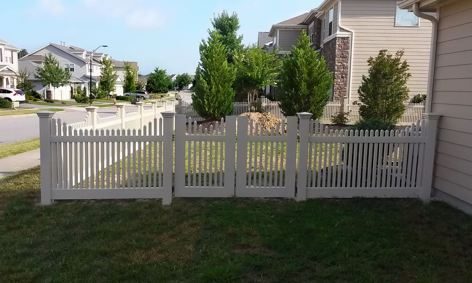 Vinyl Fencing Raleigh Nc Infinity Fence Inc